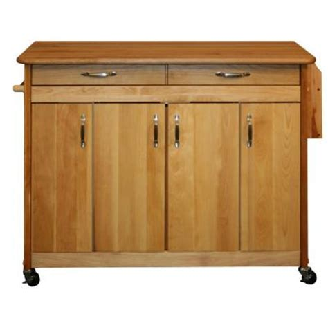 Kitchen Island At Home Depot Catskill Craftsmen Drop Leaf 44 In Kitchen Island
