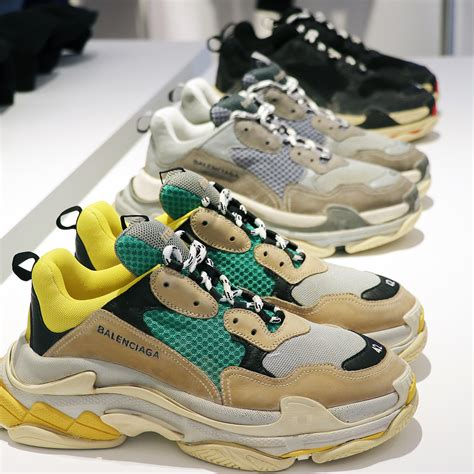 s balenciaga sneakers balenciaga unveils new s sneakers colorways