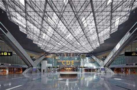wallpaper design qatar hamad international airport by hok 10