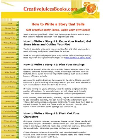 how to write a story book with pictures how to write a story creative story ideas tips to help