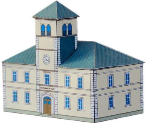 Paper Craft Buildings - 22 best 3d paper models germany images on 3d