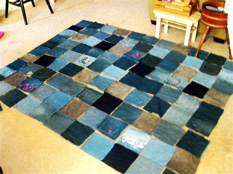 Blue Jean Quilts by A Blue Jean Denim Quilt The Easy Way