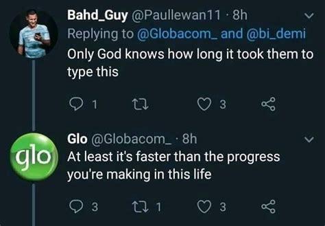 funny glo twitter handlers savage replies funny