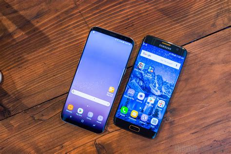 Samsung Galaxy Ac Plus galaxy s8 plus vs galaxy s7 edge how big is the
