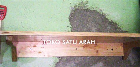 Rak Buku Kayu Jati Belanda jual rak dinding kayu jati belanda a01 satu arah