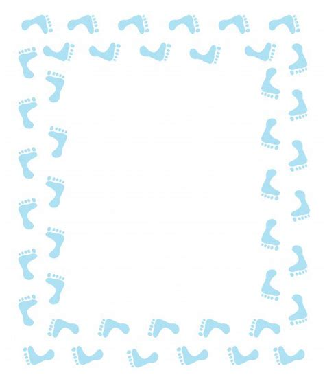 free printable baby shower borders free baby shower clip