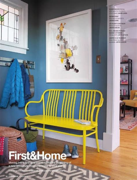 paint colors crate and barrel crate and barrel january inspiration catalog 2013 blue