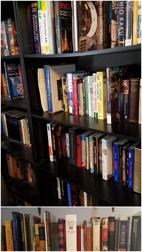 top commentsi most of you probably aren t here s most of my books my shelves aren t in the best place to get a clear picture