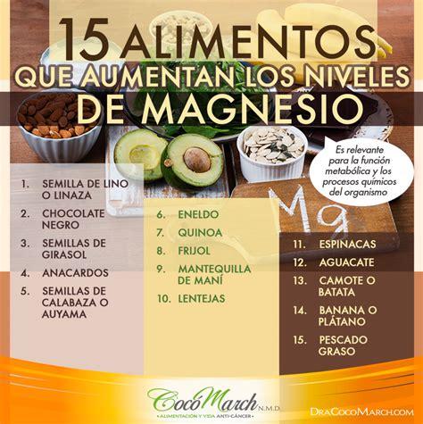 que alimentos contienen magnesio 15 alimentos que aumentan los niveles de magnesio coco march