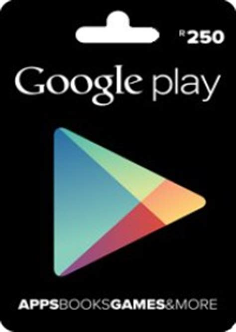 Google Play Gift Card By Email - r250 google play gift card digital email delivery prepaidgamer com