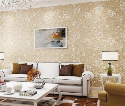 Wallpaper Dinding Glossy Modern European Style wallpaper untuk ruang tamu rumah minimalis desainrumahid