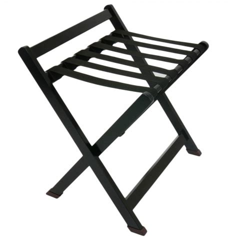 wooden luggage rack black hotellitarbed