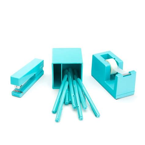 aqua blue desk accessories 1000 images about cool office supplies on pinterest