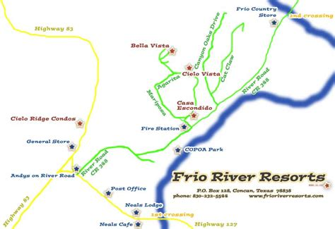 map of concan texas frio river texas map pictures to pin on pinsdaddy