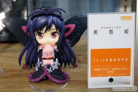 Nendoroid Kuroyukihime Gsc ani735para all about nendoroid and figma for you