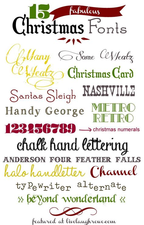 printable christmas fonts 124 best free fonts for labels images on pinterest