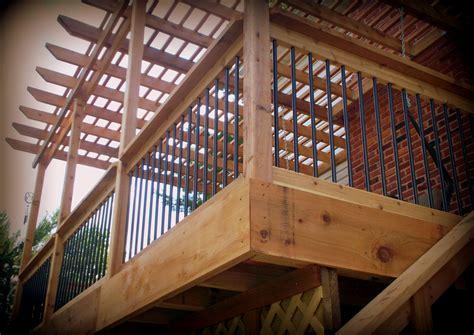 pergolas st louis decks screened porches pergolas