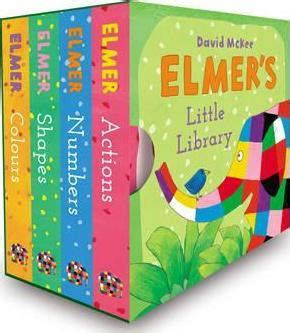 libro elmers little library elmer s little library david mckee 9781783443963