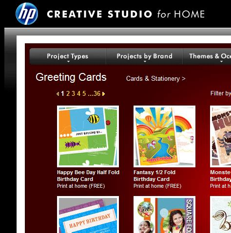 hp greeting card paper template free greeting card templates for all occasions