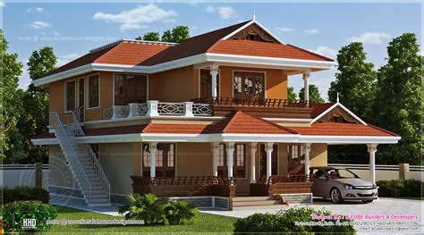 2466 sq ft beautiful kerala house design house design plans