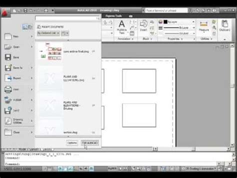 autocad tutorial youtube 2010 autocad 2010 interface tutorial 01 youtube