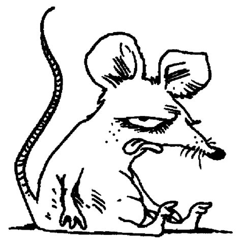rat face coloring page sobolan planse de colorat si educative