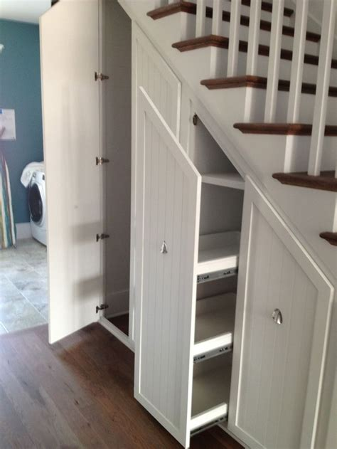 Stair Storage Closet 25 best ideas about shelves stairs on