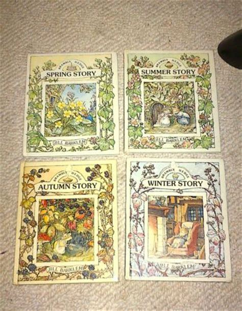 winter story brambly hedge books the world s catalog of ideas