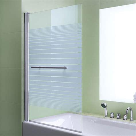 duschtrennwand badewanne glas die besten 17 ideen zu duschwand f 252 r badewanne auf