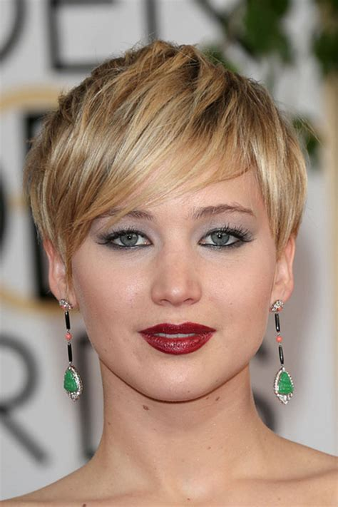 instructions for jennifer lawrece short haircut jennifer lawrence straight golden blonde hairstyle steal