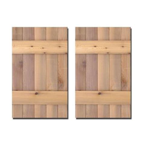 design craft millworks 15 in x 25 in cedar board