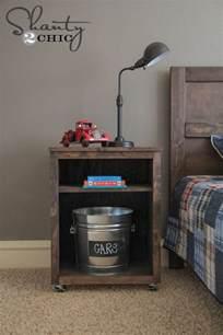 diy nightstand project ideas woodworking pinterest
