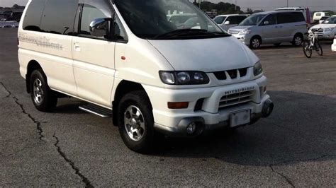mitsubishi chamonix 2001 mitsubishi delica chamonix edition with the 3 0