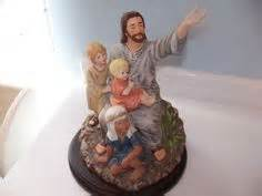 Home Interior Jesus Figurines Vintage Homco Holy Family Figurine Nativity Porcelain Home Interiors Home Holy Family And