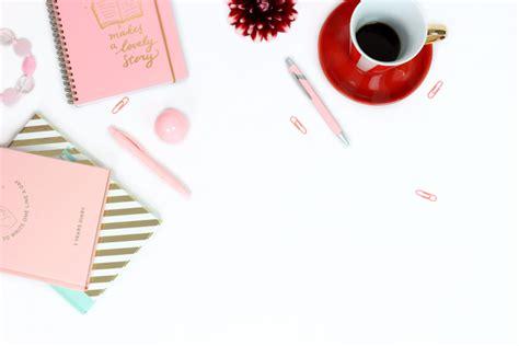 New Gold Feminim free photo of workplace desk feminine stocksnap io
