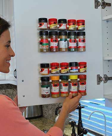 kitchen cabinet supply store the clip n store lets you organize your kitchen cabinet