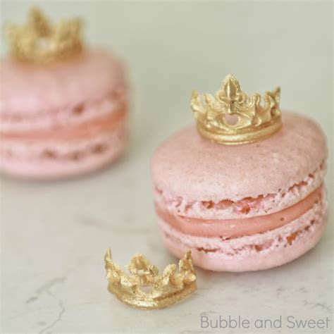 How To Make Cake Decorations At Home by Bubble And Sweet Princess Macarons With Mini Edible