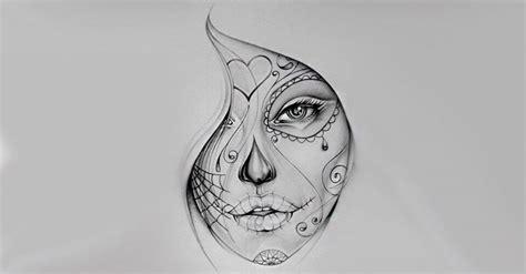 imagenes de calaveras chidas para tatuar 50 dise 241 os de catrinas y bocetos para tatuajes de