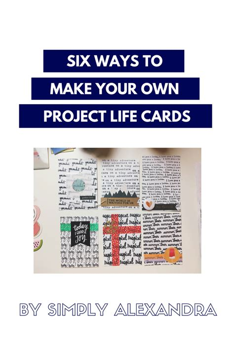 My Favorite Things Six Ways To Make Your Own Project