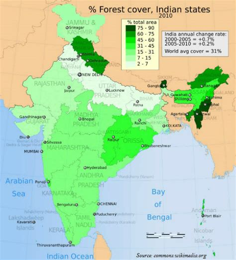 Geography India National Forest Tutorialspoint