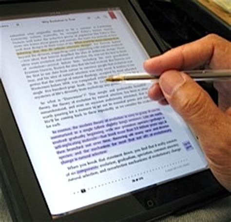 why apple's ibooks is the best e reader for making annotations