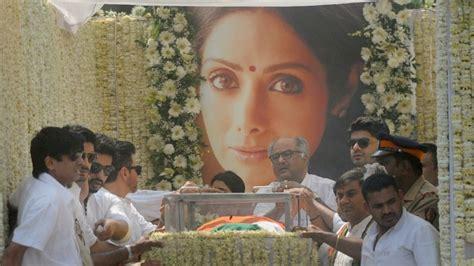 sridevi religion sridevi funeral arjun kapoor proves to be pillar of