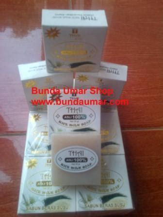 Pemutih Wajah Thai manfaat sabun beras thailand arliva kosmetik pemutih