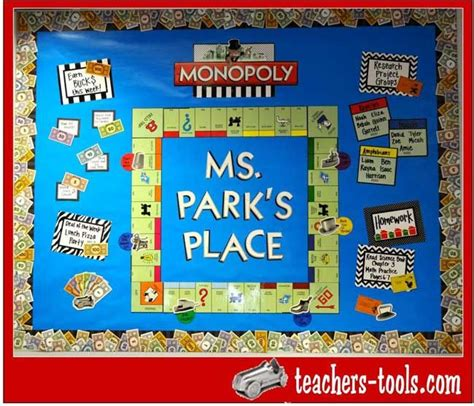 themes of monopoly board games monopoly bulletin board ideas for school pinterest