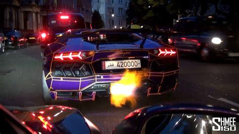 lamborghini aventador legacy edition aventador fires epic flames