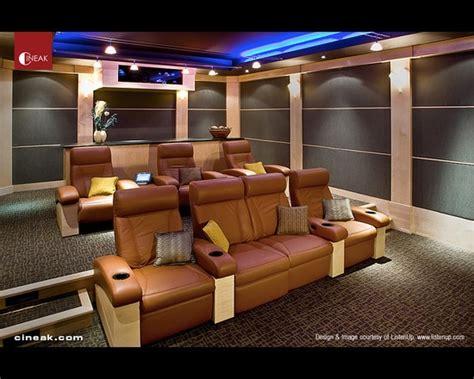 cineak fortuny seats   modern home theater