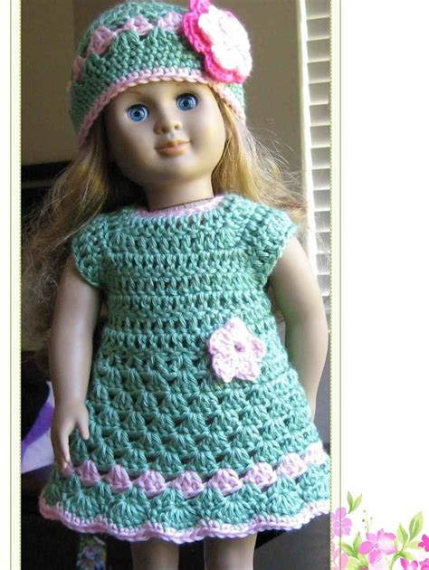 crochet pattern doll clothes 7 best images of free printable doll clothes crochet