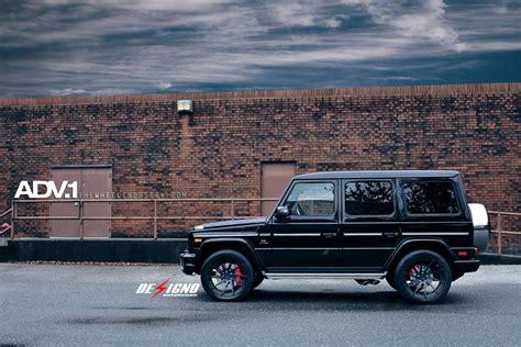 customized g wagon black mercedes g63 amg adv10r mv 2 cs wheels adv 1 wheels