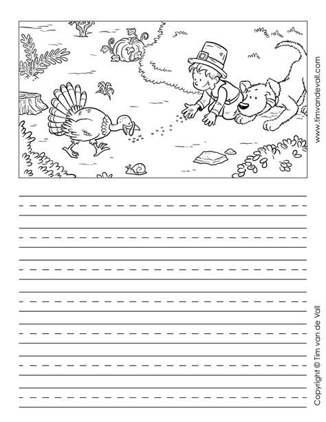 thanksgiving writing paper 4 tim van de vall