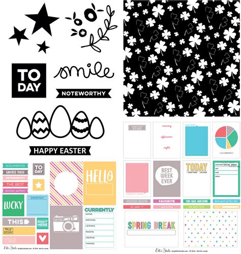 Starbucks Card Usa Easter Eggs 2016 Diecut Set our march kit extras are here along with our moments collection s studio